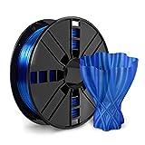NOVAMAKER PETG 3D Printer Filament , Blue PETG Filament 1.75mm , PETG 1kg Spool(2.2lbs), Dimensional Accuracy +/- 0.03mm.