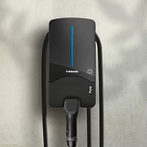 Webasto Pure Wallbox Black Edition - Caja de Pared (11 kW, Incluye Cable de 4,5 m Tipo 2)