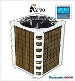 Pompe à chaleur piscine performante - 15kW COP 6.1 + télécommande -...