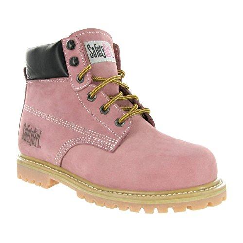 6. SafetyGirl Steel Toe Waterproof Womens Work Boots