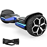 Hoverboard 6.5' inch All Terrain Off Road T581 Hoverboards,with Bluetooth Speaker and App-Enabled, Smart Self Balancing Hover Board and Two-Wheel with UL2272 Certified for Kids and Adults