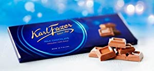 Totally you will get nine bars and 63.5 oz or 1800 g of delicious Karl Fazer milk chocolate. Great taste and delicious chocolate. Bar is absolutely new, packed and never opened.