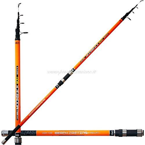 kolpo Moon Beach Canna da Pesca Surfcasting 4.00 mt 170 gr