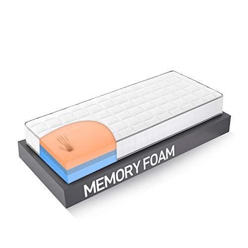 FARMARELAX - Materasso Memory, Singolo 80x190 cm, Ortopedico, Dispositivo Medico Detraibile,...