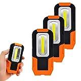 ENUOTEK Lampes de Poche LED Lampes Baladeuses a 3W COB LED Batterie Portative...