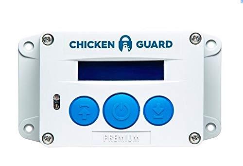 ChickenGuard 'Premium' Automatic Chicken Coop Pop Door Opener Lifts Up to 2 lbs