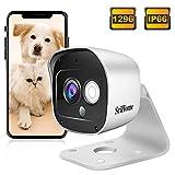 Caméra Surveillance WiFi Extérieure, SriHome SH029 Caméra IP WiFi 3MP,...
