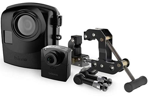 Brinno BCC2000 Time Lapse Construction Camera Pack, Cronofotografia, Risoluzione Video Full HD, Completo di Custodia IPX5 e Morsetto, Nero