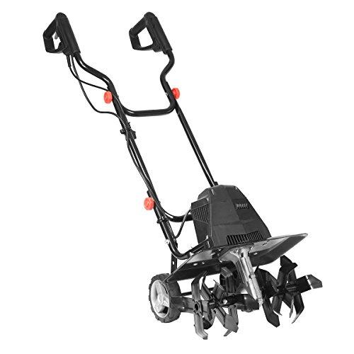 BRAST motobineuse électrique puissante: 1500 Watt - 45 cm largeur, 22 cm profondeur de travail - 24 lames - rotation: 400 trs/min - motoculteur électrique