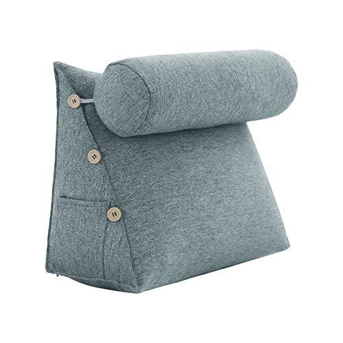 VERCART Rückenkissen Nackenrolle Wedge Pillow tv...