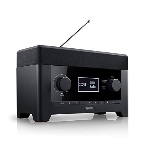 Teufel Radio 3sixty Schwarz Stereo Lautsprecher Musik Sound Subwoofer Soundanlage Speaker Bluetooth DAB+ Internet Radio