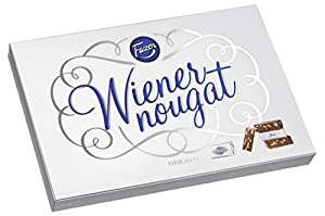 210g Gift Box 30 pieces of individually wrapped Almond Nougat Imported from Finland Very Delicious! Makes a great Christmas gift! MAY CONTAIN TRACES OF HAZELNUTS!