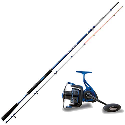 Fishing Ferrari Stupendo Kit BOLENTINO Deep Blue 2,50 m 150 Gr Canna Bolentino + Mulinello Offshore 5000