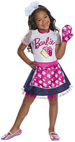 Rubie's Child's Barbie Career Baker Chef Costume, X-Small
