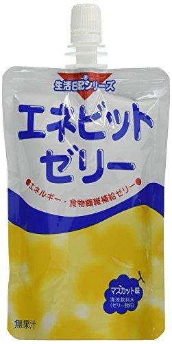 エネビットゼリー マスカット味 150g×24袋/箱
