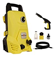 ULTRA POWERFUL CLEANING FORCE : Powerful 1400-watt motor generates up to 115 bar /340 lit/hr for maximum cleaning power. perfect for decks, cement walls, pavement, pools, outdoor furniture, cars, trucks, garbage cans, animal cages and more VERSATILE ...