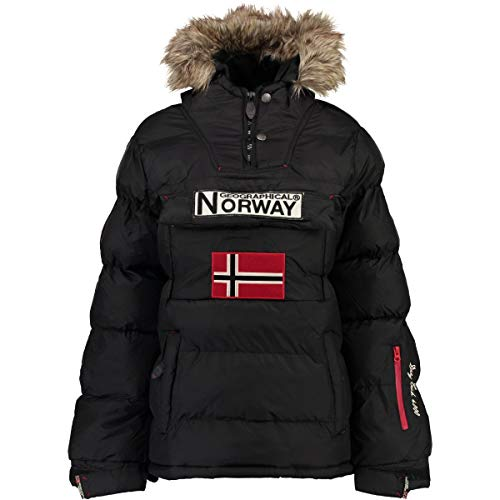 Geographical Norway Chaqueta Mujer Anson Negro S