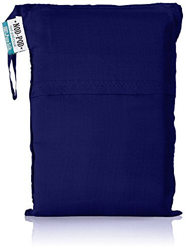 Nod-Pod 100% Soie Drap de Sac de Couchage (Bleu Marin)