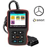 Creator OBD2 Scanner for Mercedes Benz ABS SRS Transmission Full System Diagnostic Scan Tool Professional Automotive Code Reader