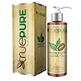 TruePure Natural Caffeine Shampoo | Fragrance Free & Sulfate Free Treatment For Healthy Hair Growth & Hair Loss Prevention | DHT Blocking Formula For Men & Women With Normal To Thin Looking Hair, 8oz