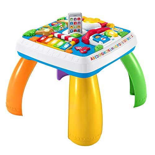 Fisher-Price DRH33 Tavolino Attivit della Citt con 3 Livelli di Gioco che Crescono con il Bambino,...