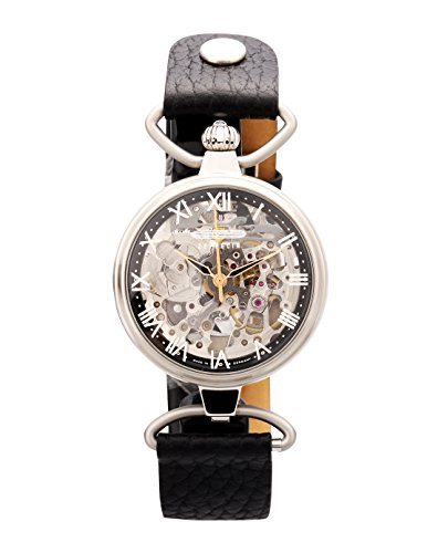 Zeppelin Damen-Armbanduhr of The Sky Analog Automatik Leder 7457-2