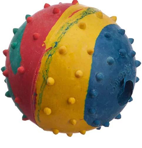 MUNCHOS Rubber Hard Dog Ball (Large)