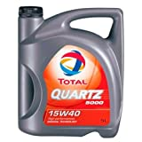 Total TO5D15405 Quartz 5000 15W40 Diesel 5 L