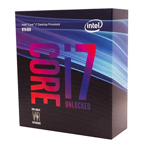 Intel Core i7-8700K Processeur (Vitesse d'horloge 3,7 GHz, 12 Mo de Cache L3, en Boîte sans Glacière)