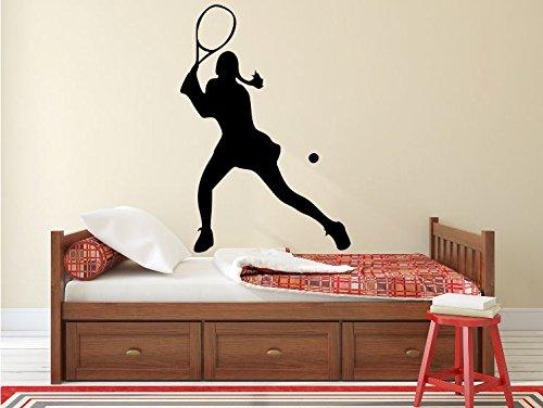 Maxx Graphixx Tennis Player Wall Decal - 39
