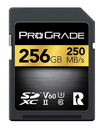 ProGrade Digital (プログレードデジタル) SDXC UHS-II V60 GOLD 250R メモリーカード 正規輸入品 (256GB)