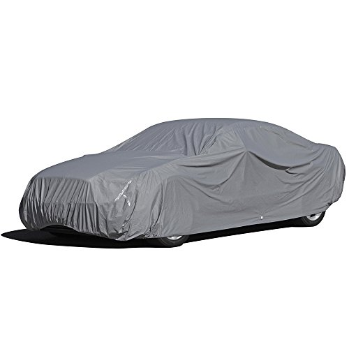 OxGord Executive Storm-Proof Car Cover - Water Resistant 7 Layers -Developed for Any All Conditions - Ready-Fit Semi Glove Fit - Fits up to 200' Inches