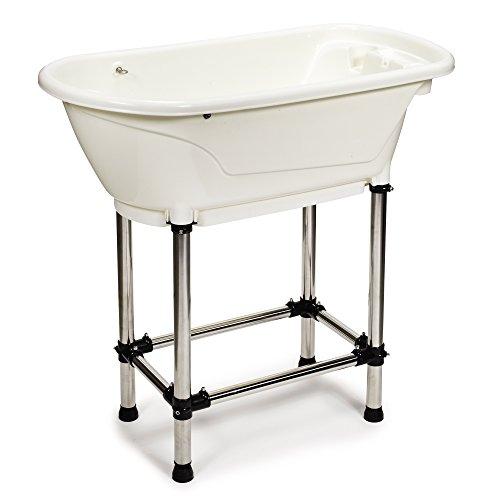 Master Equipment Bathe & Go Dog Groomer's Tub,...