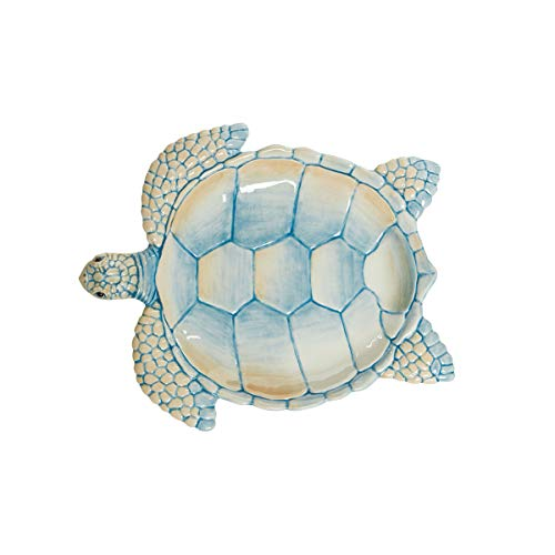 Fitz and Floyd Newport Home Turtle Dish, 9.25-Inch, Assorted