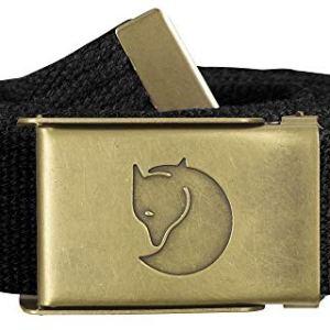 Fjallraven – Canvas Brass Belt 3 cm