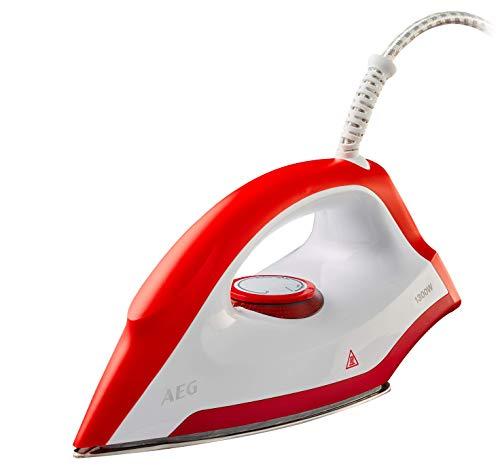 AEG LB1300 Ferro a secco 1300W Rosso, Bianco