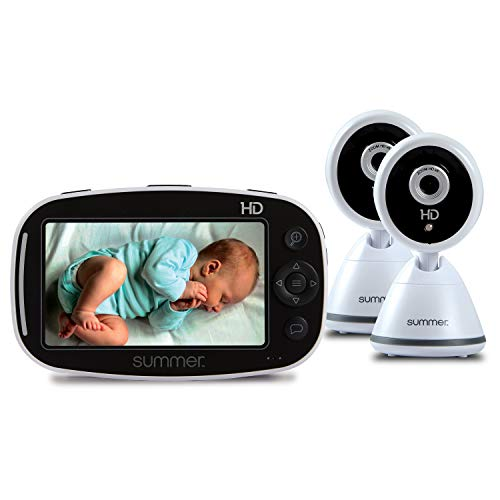 Summer Baby Pixel Zoom HD Duo 5.0' High Definition Video Baby Monitor with 2 Cameras