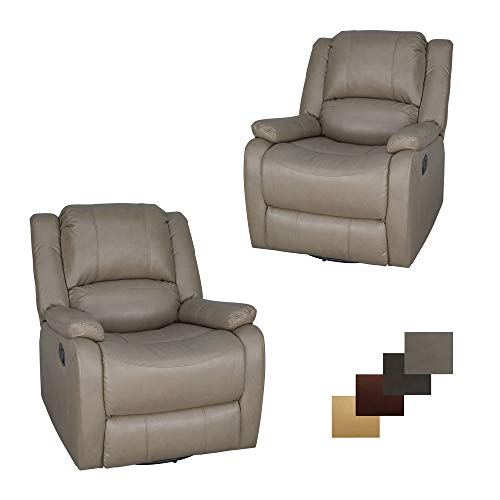 Set of 2   RecPro Charles Collection   30' Swivel Glider RV...
