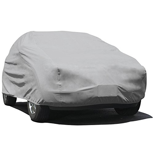 Budge Duro Station Wagon Cover Fits Station Wagons up to 200 inches, DS-2 - (Polypropylene, Gray)