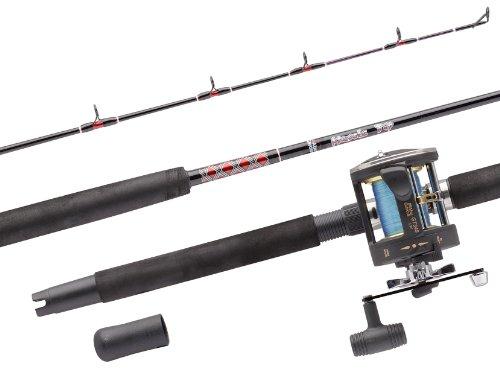 ABU GARCIA MT702SWH/GT345 RH 2PC Canna per la Pesca da Barca, 7-18 kg, 2 m ca.