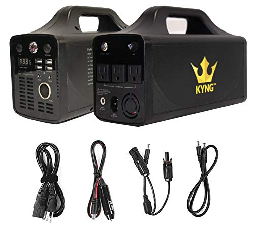 KYNG Power Solar Generator Portable Power Station 500W UPS...