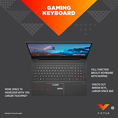 41Wvnu09QIL Victus by HP Ryzen 5 5600H 16.1-inch(40.9 cm) FHD Gaming Laptop computer (8GB RAM/512GB SSD/4GB RTX 3050 Graphics/Flicker Free Show/Home windows 10/MS Workplace/Mica Silver/2.48 Kg), 16-e0076AX