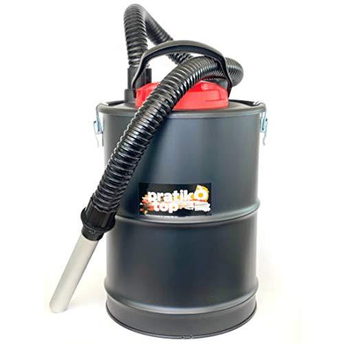 Aspiracenere Elettrico Pratik Top Da 1200 W Per Stufa A Pellet