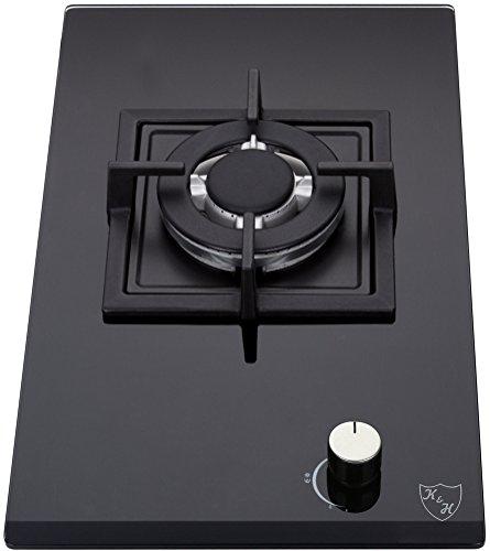K&H Domino Piano cottura a Gas 1 Fornelli WOK 30cm 1Z-KHGW