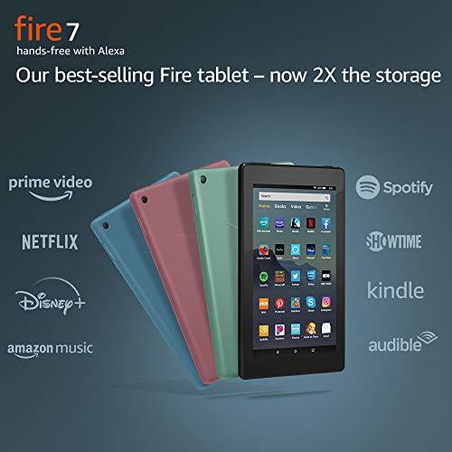 Fire 7 Tablet (7' display, 16 GB) - Black + Kindle Unlimited...