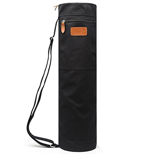 ELENTURE Yoga Mat Bag, Yoga Mat Carrier Full-Zip Exercise...