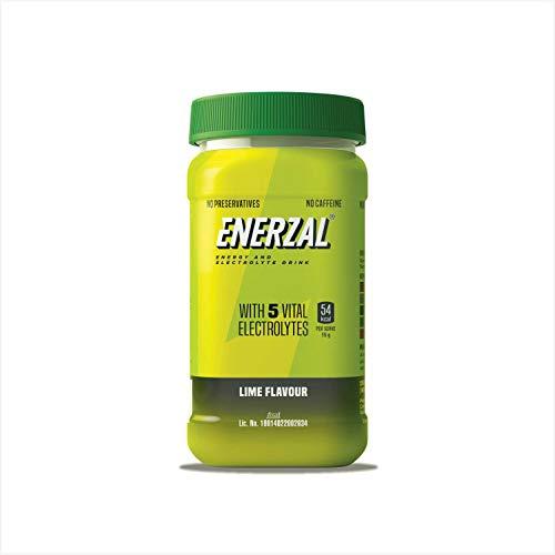 Enerzal Energy Drink Powder Lime Flavour (Pet Jar)500g