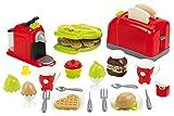 Jouets Ecoiffier – 2647 - Coffret toaster grand modèle + petit déjeuner pour enfants- 33...