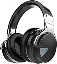 cowin E7ANC Bluetooth Deep Bass/30 Hours Playtime Wireless In-Ear Headphones With Mic and Volume Control, Black