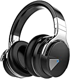 COWIN E7 Active Noise Cancelling Headphones Bluetooth Headphones with Microphone Deep Bass Wireless...